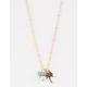 FULL TILT Palm Tree Necklace