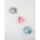 FULL TILT 3 Pack Tie Dye Jersey Scrunchies
