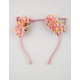 FULL TILT Pretty Flower Cat Ears Headband