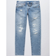 LEVI'S 511 Disaster Ripped Mens Slim Jeans