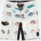 REEF Fish Chart Mens Boardshorts