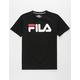 FILA Classic Logo Black Boys T-Shirt