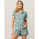 RVCA Kingdom Womens Boyfriend Shirt