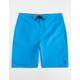 HURLEY One And Only Blue Mens Boardshorts