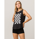 VANS Check You Out Womens Muscle Tank