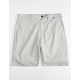 HURLEY Breath Dri-Fit Gray Mens Shorts
