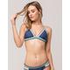 DAMSEL Blue Triangle Bikini Top