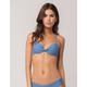 FULL TILT Underwire Indigo Halter Bikini Top