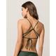 FULL TILT Olive Bralette Bikini Top