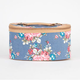 Chambray Floral Cosmetic Case