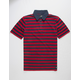VANS x Chima Ferguson Chima Striped Mens Polo Shirt