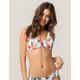 FULL TILT Smocked Bikini Top