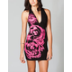 FAMOUS STARS & STRAPS Full Bloom Halter Dress