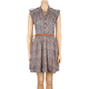 ANGIE Belted Shirt Dress