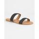 QUPID Braided Strap Womens Sandals