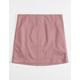 WHITE FAWN Mauve Stretch Girls Twill Skirt