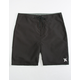 HURLEY One And Only Black Mens Boardshorts