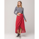 IVY & MAIN Wrap Skirt