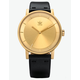 ADIDAS DISTRICT_L1 Gold & Black Watch