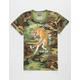 RIOT SOCIETY Tiger Camo Boys T-Shirt