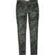 JALATE Vintage Floral Womens Skinny Pants