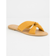DEL MAR Knotted Womens Slide Sandals