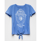 Smokey The Bear Tie Front Girls Tee