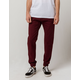 CHARLES AND A HALF Cabernet Mens Twill Jogger Pants