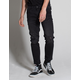 RSQ Seattle Released Hem Mens Crop Taper Skinny Jeans