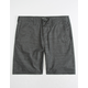 HURLEY Dri-FIT Breathe Black Mens Shorts
