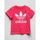 ADIDAS Trefoil Pink Girls T-Shirt