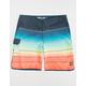 BILLABONG 73 X Stripe Orange Mens Boardshorts