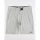 BILLABONG Crossfire X Slub Silver Mens Hybrid Shorts