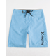 HURLEY Heathered One & Only Blue Boys Boardshorts