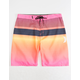HURLEY Line Up Hyper Pink & White Mens Boardshorts
