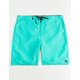HURLEY One And Only Aqua Mens Boardshorts