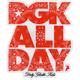DGK Paisley All Day Sticker