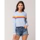 FULL TILT Horizontal Stripe Womens Sweatshirt