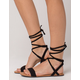 CITY CLASSIFIED Braided Wrap Womens Sandals