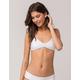 FULL TILT White Bralette Bikini Top