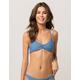 FULL TILT Reversible Indigo Bralette Bikini Top