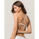 FULL TILT Triangle White Bikini Top