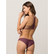 FULL TILT Reversible Plum Hipster Bikini Bottoms