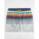 VALOR Fred Stripe Mens Volley Shorts