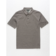 VOLCOM Wowzer Dark Grey Boys Polo Shirt