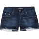 SCISSOR Peek a Boo Pocket Girls Denim Shorts