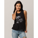 AMUSE SOCIETY Totally Womens Muscle Tank