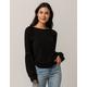 AMUSE SOCIETY Bonjour Baby Womens Sweatshirt