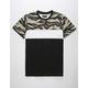 ASPHALT Tiger Tri Block Mens T-Shirt