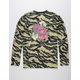 ASPHALT Flower Power Mens Henley